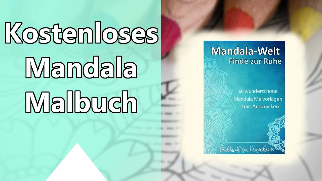 Kostenloses Mandala Malbuch für Erwachsene zum Ausdrucken Perfekte ...