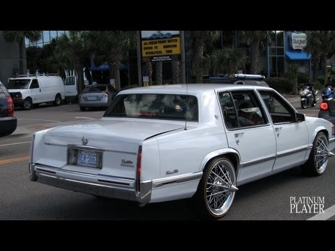 93 cadillac deville on pokes vogues myrtle beach youtube. Black Bedroom Furniture Sets. Home Design Ideas