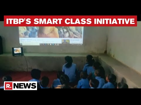 Chattisgarh:  ITBP Kickstarts Smart Classes For Children In Naxal-Hit Areas thumbnail
