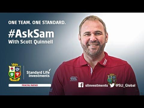 #AskSam with British & Irish Lions Captain Sam Warburton and Scott Quinnell