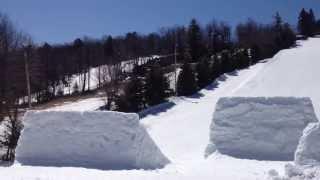 Backflip over 45 footer at Big Boulder, PA