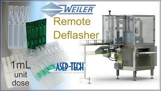 asep tech weiler engineering inc blow fill seal remote deflasher 1ml 24 cavity