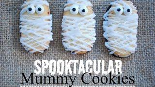 Diy Halloween Cookies - Mummy Cookies