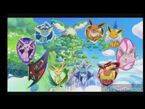 Pokemon Lune Et Soleil Les Evolutions D Evoli Youtube