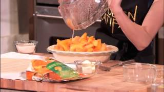 Emma Roberts Shares Her Simple Summer Peach Pie Recipe 2014