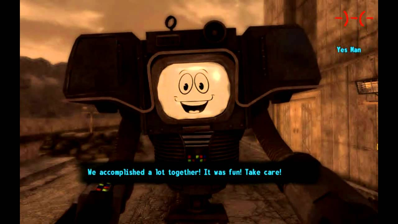 Fallout New Vegas Yes Man Ending In The End My Rule Is