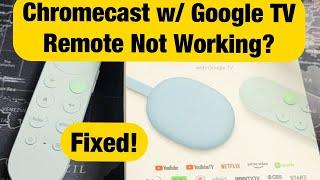 Chromecast w…