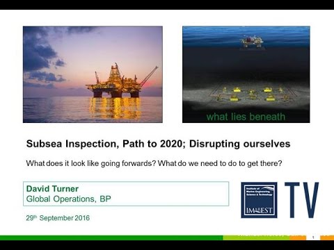 Subsea Inspection, Path to 2020