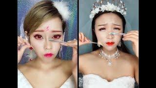 OMG Makeup vs No Makeup 👄 Girl Removing Makeup 🎀  Makeup beauty magical ❤️ Part 6