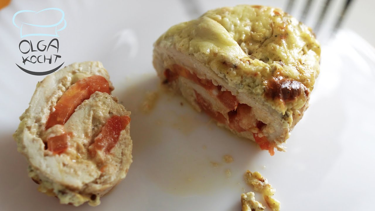 Leckeres Auflauf Rezept mit Hähnchen Brust und Gouda Käse | Leckere Sauce