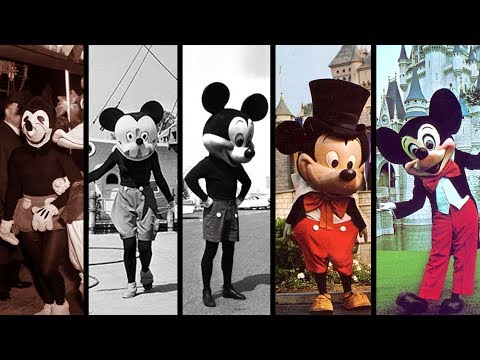 Evolution Of Mickey Mouse In Disney Parks! Disney Theme Park History! DISTORY Ep 1