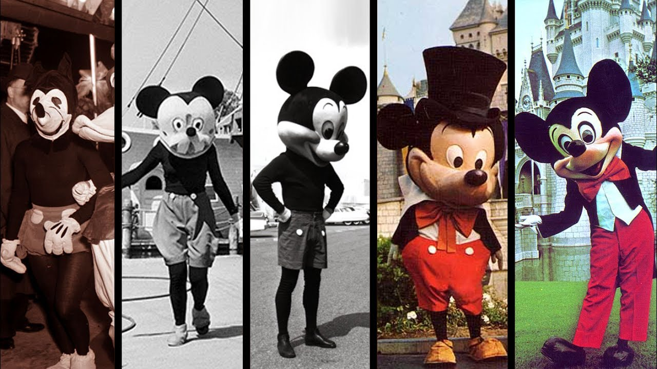 Mickey Mouse Birthday in Pictures: How the Character Has Evolved ...