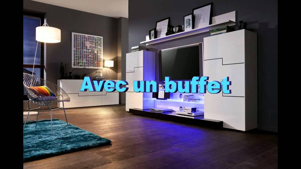 meuble tv noir meuble design meuble et canap com