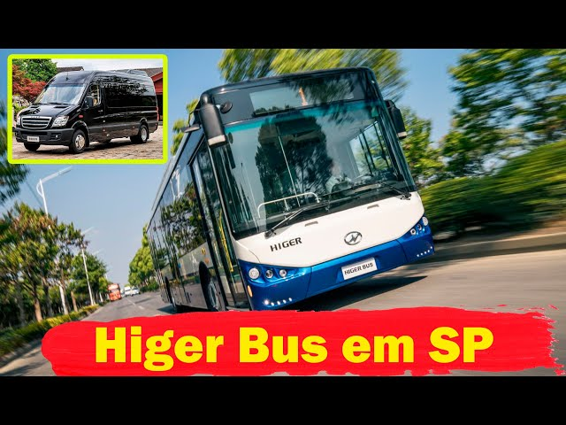 São Paulo vai testar elétricos da Higer Bus - MTED
