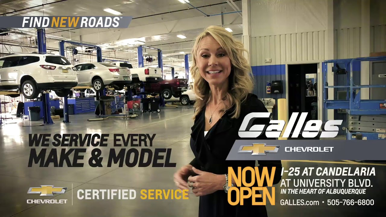 Galles Chevrolet - Service 05 - YouTube