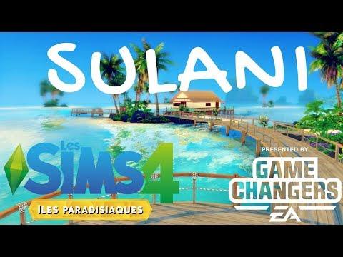 Iles Paradisiaques 🌴🐟 SULANI | Les Sims 4