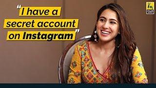 I have a secret account on Instagram   Sara Ali Khan   Film Companion