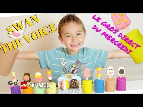SWAN THE VOICE // LE GROS DIRECT DU MERCREDI #LEGO NINJAGO