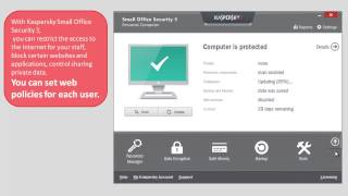 How to restrict and monitor Internet usage remotely in Kaspersky Small Office Security 3