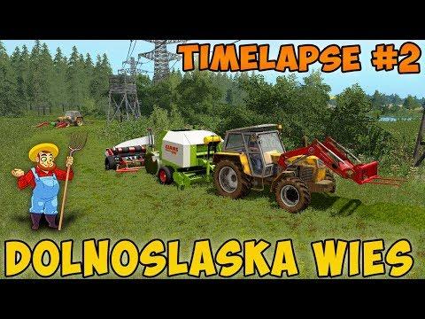 Farming simulator 17 Timelapse Dolnośląska Wieś Map ep#2