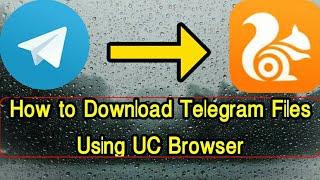 Download Telegram Files Using External Browser