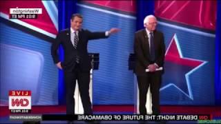 Bernie Sanders Debates Ted Cruz on Affordable Care Act Repeal
