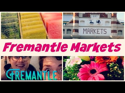 SHOPPING LOCAL - Fremantle Markets (Western Australia) - Australia Adventures #7