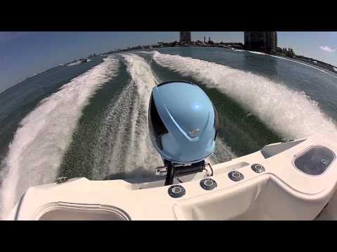 Seven Marine 557 Sea Trial at Miami Boat Show 2012
