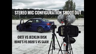 Stereo Microphone Configuration Shootout - BMW M3 CS