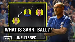 What is Sarri-ball? Chelsea's tactics explained