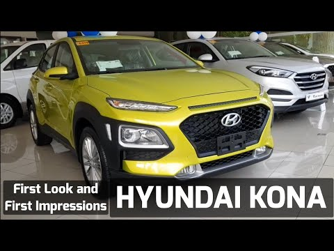 HYUNDAI KONA PHILIPPINES FIRST LOOK AND FIRST IMPRESSIONS