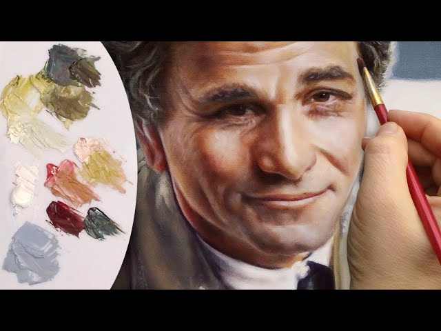PAINTING PORTRAIT DEMO ✦ REALISTIC ART ✦ figure / face / skin of a man / male by Isabelle Richard