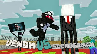 Monster School : SLENDERMAN VS VENOM - Battle Monster - Minecraft Animation