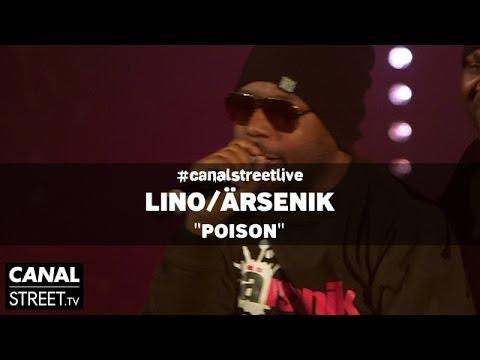 Youtube: Lino / Ärsenik – P.O.I.S.O.N. en #canalstreetlive