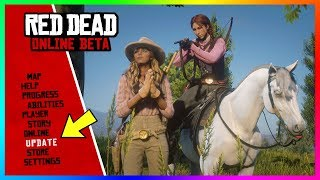 Red Dead Online - NEW UPDATE! Release Date, Bounty Hunting, Weapon Fixes & MORE! (RDR2 DLC)