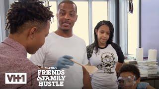 T.I. & the Harris Family Take Over Major's Soap Project | T.I. & Tiny: The Family Hustle