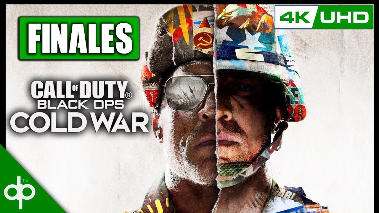 CALL OF DUTY Black Ops Cold War - Todos los Finales en Español | Final Bueno y Malos