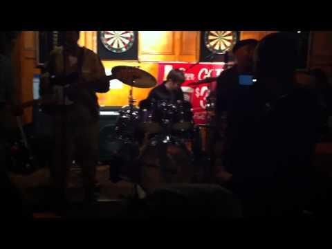 Chris Palis rockin brick house with Bourbon Street...