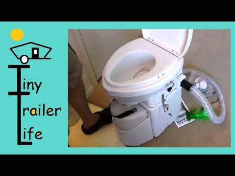 Alternative living Composting Toilet No Water No Plumbing No Dumping, Composting Toilet Natures Head
