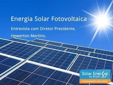 Saiba como funciona a energia solar fotovoltaica - Solar Energy do Brasil