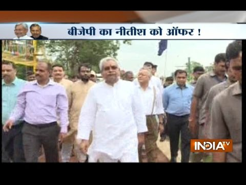 BJP will form alliance with JDU if Nitish Kumar takes action against Lalu Yadav