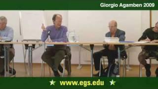 Giorgio Agamben. Forms of Power. 2009 2/7