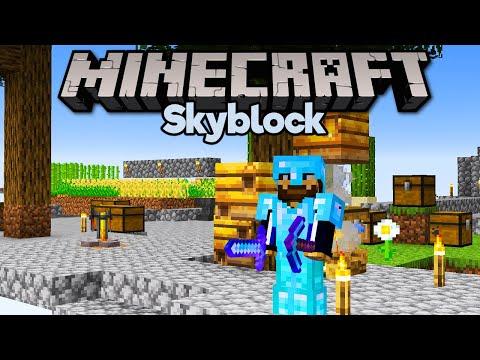 Full Diamond Armour & Tools in Skyblock! ▫ Minecraft 1.15 Skyblock (Tutorial Let's Play) [Part 11]