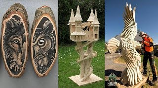 Top 50 Amazing Wooden Art In The World (Part-2)