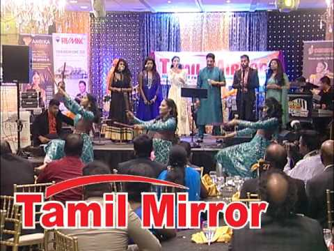 Tamil Mirror Gala 2015 with Unni Menon & local singers, Oct 11, 2015, Toronto