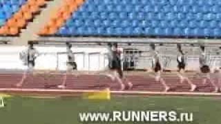 Чемпионат России в Казани 800м