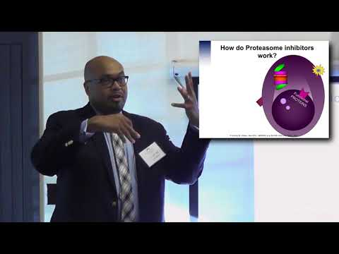 Dr. Craig Cole:  Proteasome Inhibitors for Myeloma with example drugs