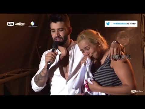 Gusttavo Lima paga tratamento para filha de Fã que estava no Show da pecuaria de Goiania de 2018