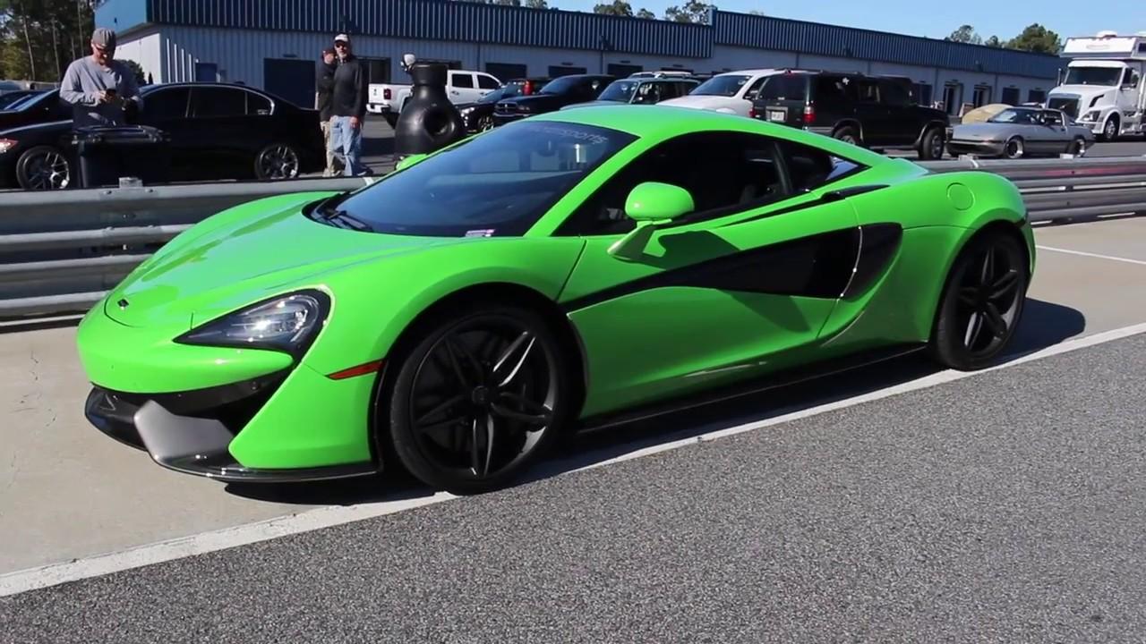 Driving Exotic Cars And Gocarts At Atlanta Motorsports Park