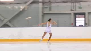 Всероссийские соревнования 'Надежды Росс Дeвушки, KMC Произвольная программа 24# Виктория САФОНОВА